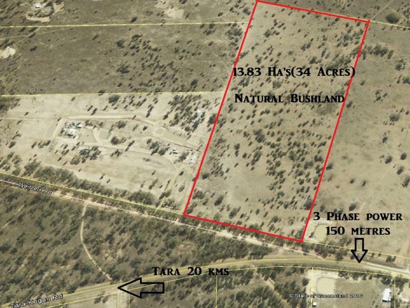 34 ACRES Lot 9 Tara Kogan Road, Kogan, Qld 4406
