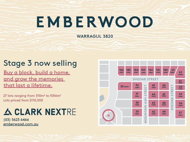 Lot 185, Emberwood Estate, Warragul, Vic 3820