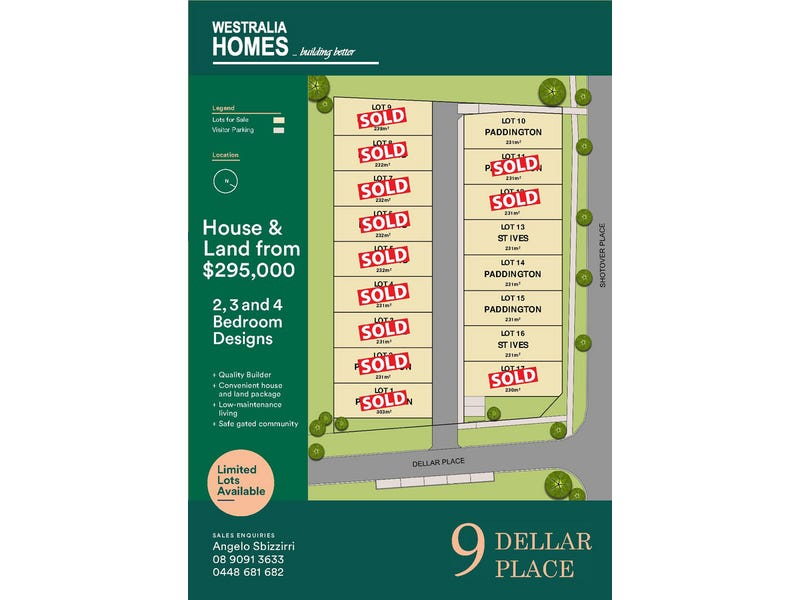 10, 11, 14, 15/9 Dellar Place, South Kalgoorlie, WA 6430