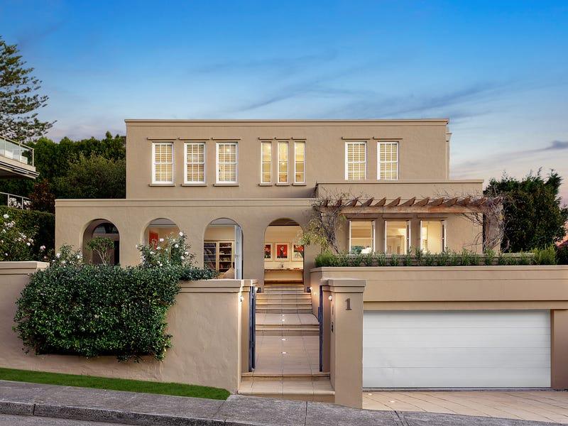 1 Hillside Avenue, Vaucluse, NSW 2030