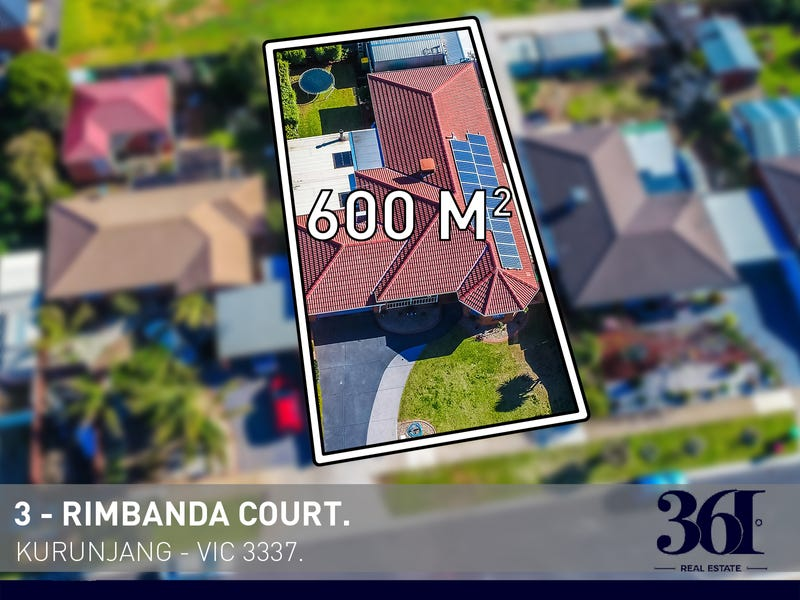 3 Rimbanda Court, Kurunjang, Vic 3337