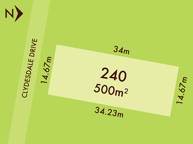 Lot 240, 20 Clydesdale Drive, Bonshaw, Vic 3352