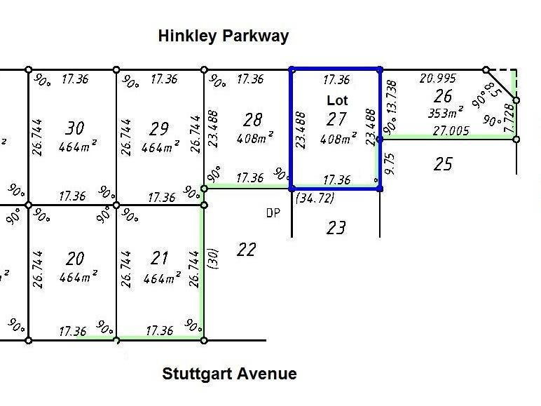 Lot 27 Hinckley Parkway, Hocking, WA 6065