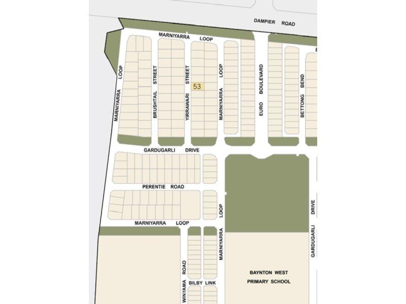 Lot 53, 14 Yirrawari Street, Karratha, WA 6714