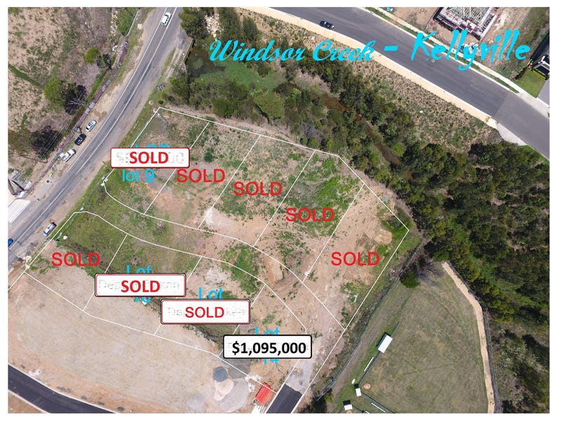 Lot 10-13, 8 Severn Vale Drive, Kellyville, NSW 2155
