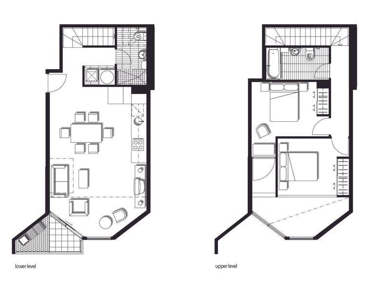 410/539 St Kilda Road, Melbourne, Vic 3000 - floorplan