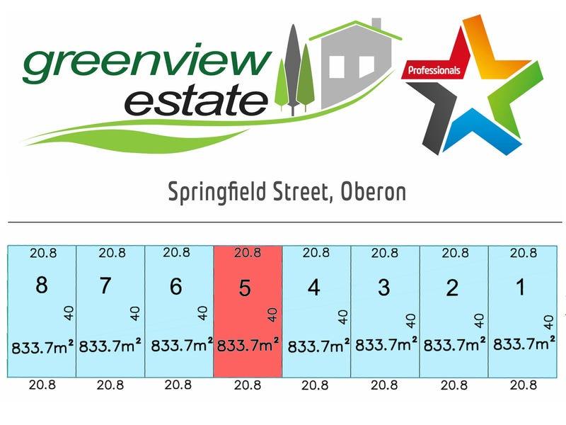 Lot 5, Springfield Street, Oberon, NSW 2787
