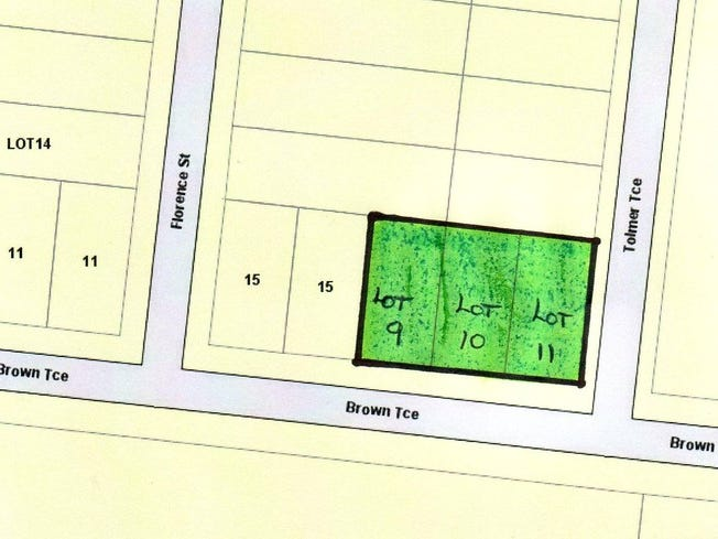 lot 9 10 11 Brown Terrace, Bordertown, SA 5268