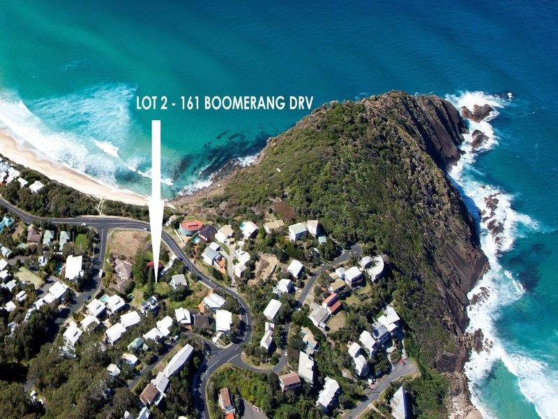 Lot 2, 161 Boomerang Dr, Boomerang Beach, NSW 2428