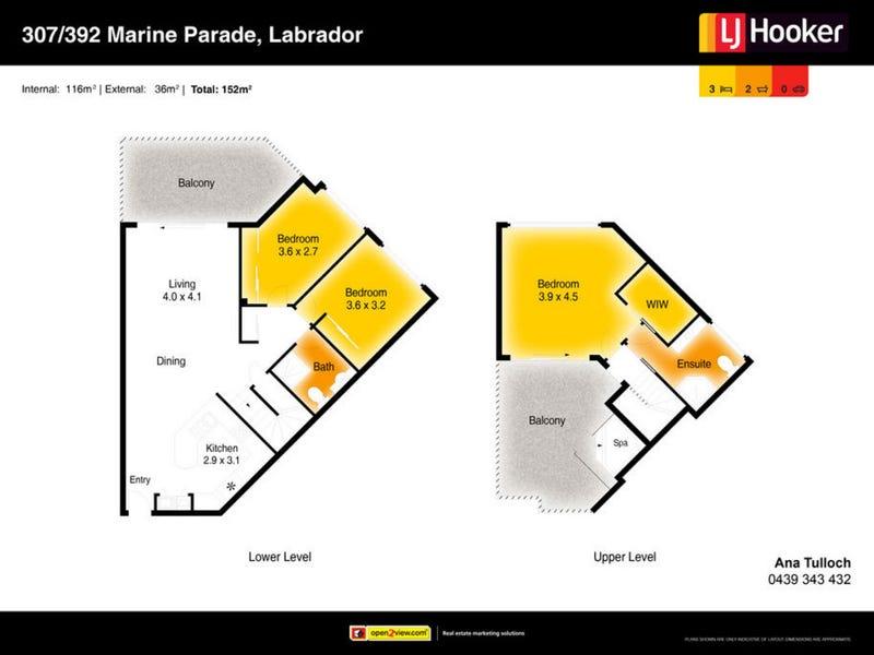 307/392 Marine Parade, Labrador, Qld 4215