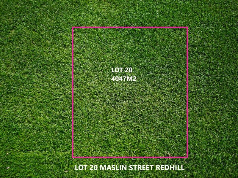 Lot 20, Maslin Street, Redhill, SA 5521