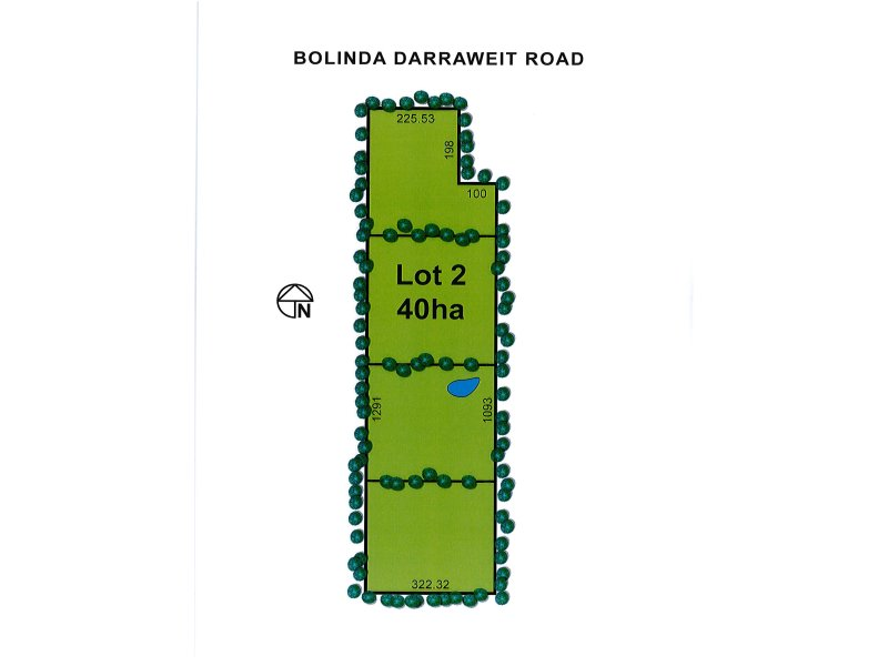 Lot 2 Bolinda - Darraweit Road, Bolinda, Vic 3432
