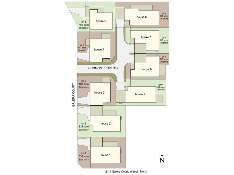 Lot 1-9, 2-14 Galera Court, Wandin North, Vic 3139