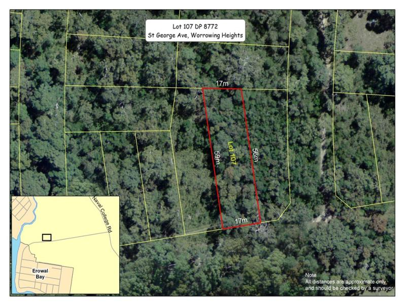 Lot 107 DP 8772, St George Avenue, Worrowing Heights, NSW 2540