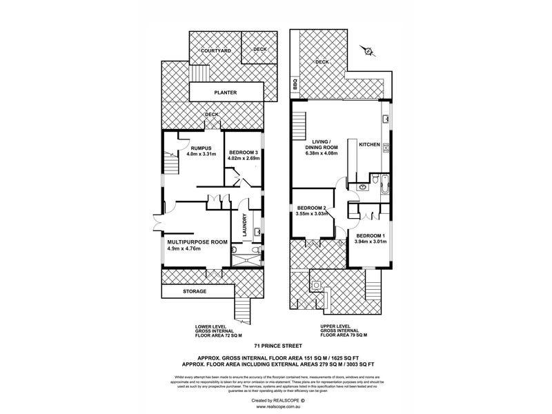 71 Prince Street, Paddington, Qld 4064 - floorplan