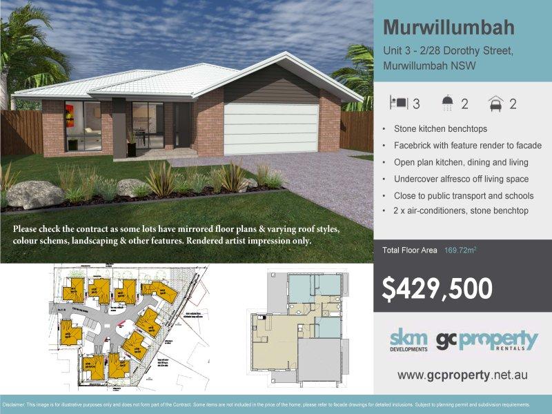 3 - 2/28 Dorothy Street, Murwillumbah, NSW 2484