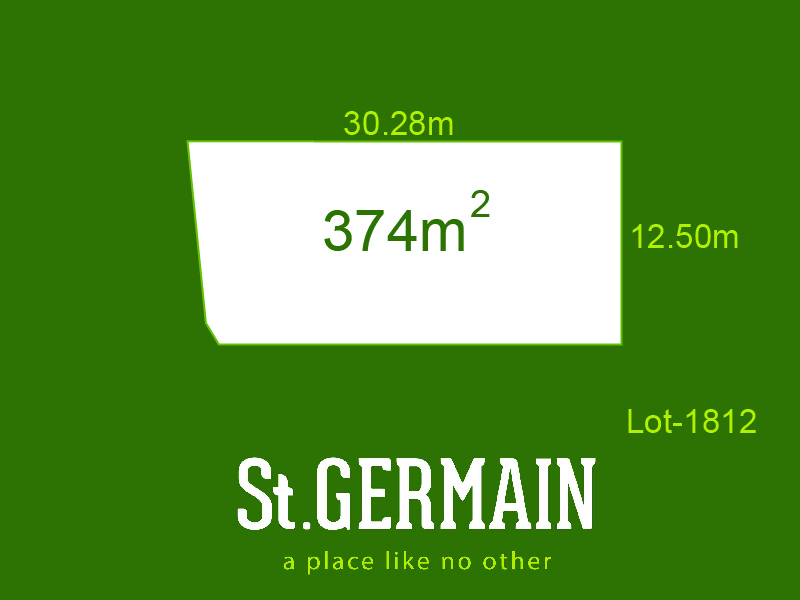 Lot 1812, St Germain, Clyde North, Vic 3978