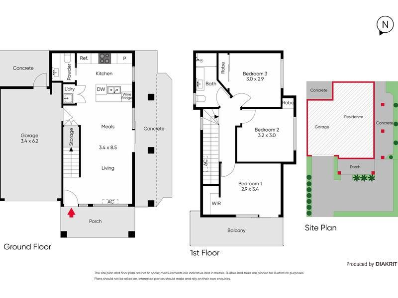 1/15 Coleus Street, Dromana, Vic 3936 - floorplan