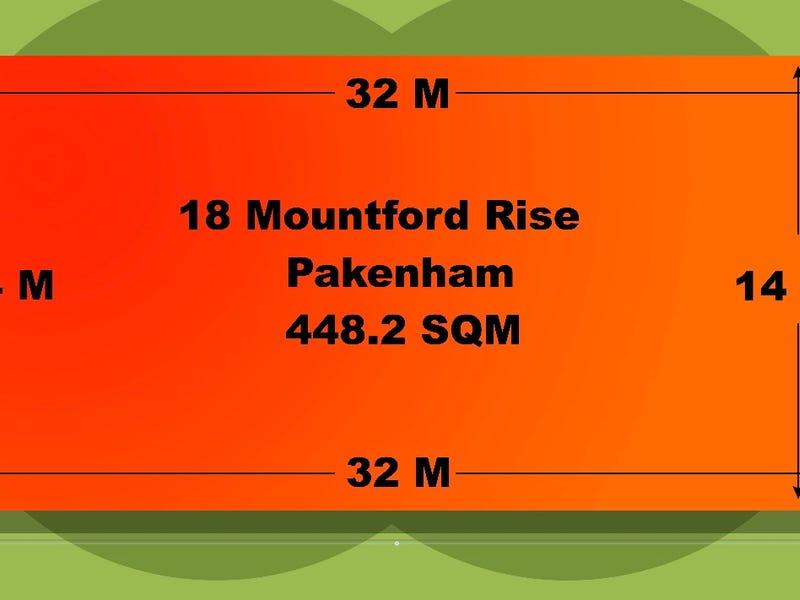 18 Mountford Rise, Pakenham, Vic 3810