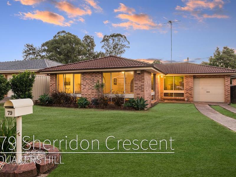 79 Sherridon Crescent, Quakers Hill, NSW 2763