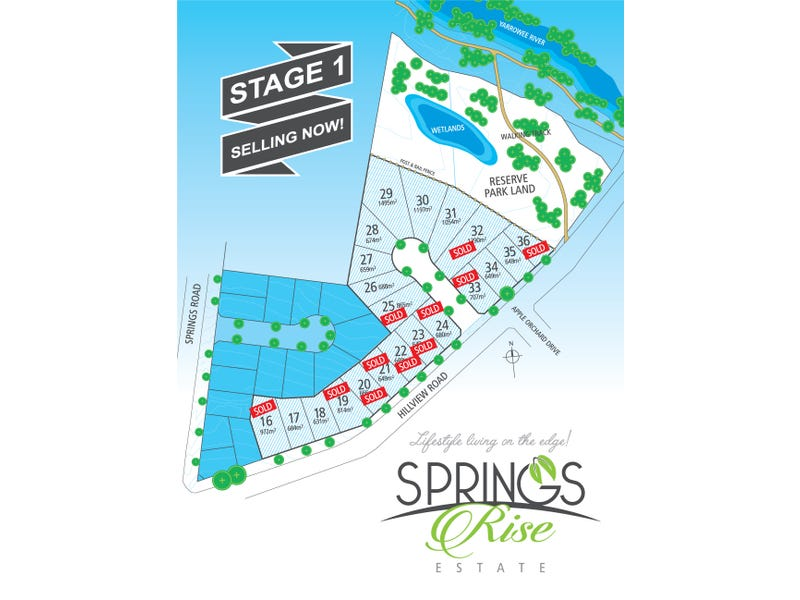 Lot 20 Springs Rise Estate, 5 Hillview Road, Brown Hill