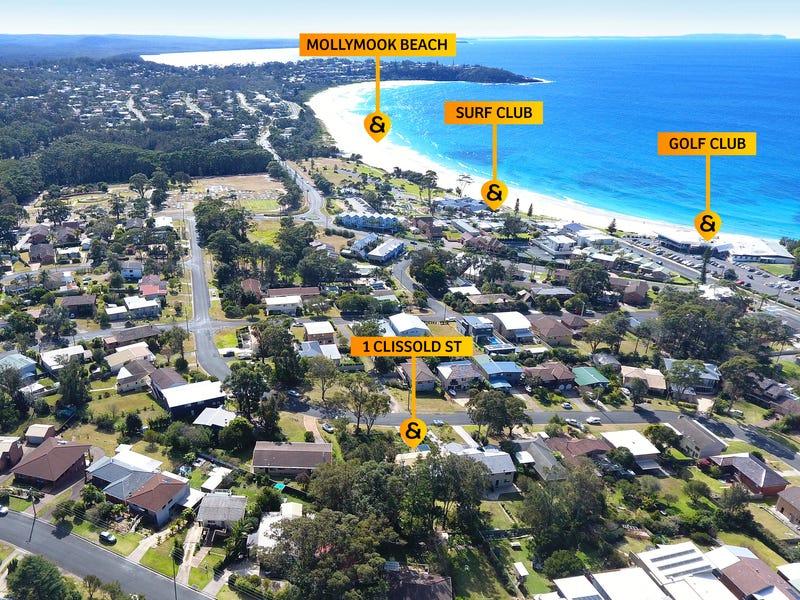 1 Clissold Street, Mollymook, NSW 2539
