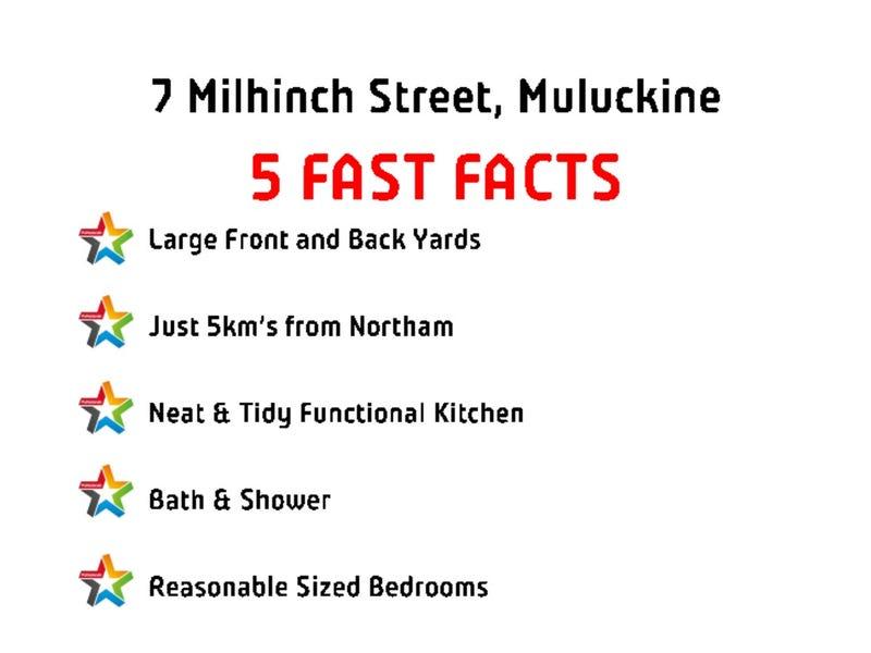 7 Milhinch Street, Muluckine, WA 6401