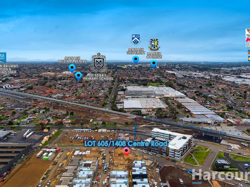 Lot 605/1408 Centre Road, Clayton South, Vic 3169