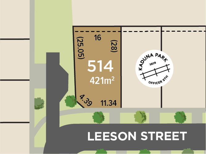 Lot 514, Leeson Street, Officer South, Vic 3809