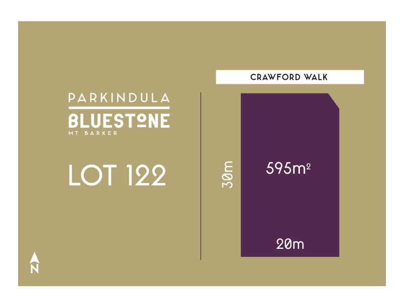 Lot 122, Crawford Walk, Mount Barker, SA 5251