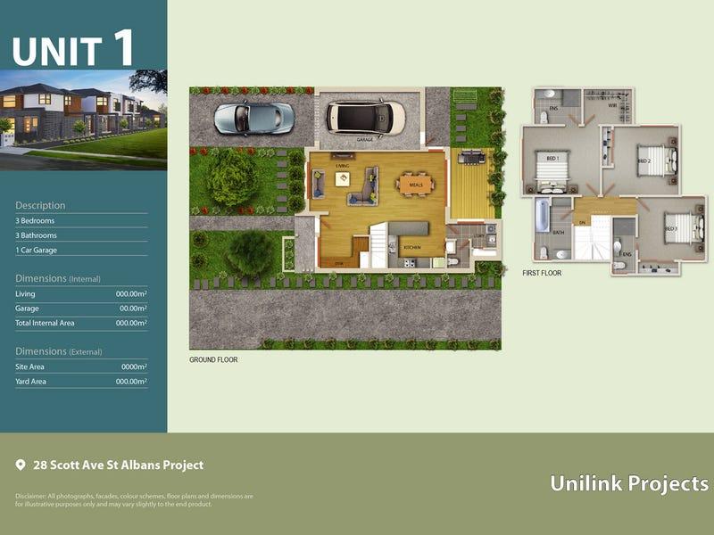 Unit 2,3,4/28 Scott Avenue, St Albans, Vic 3021