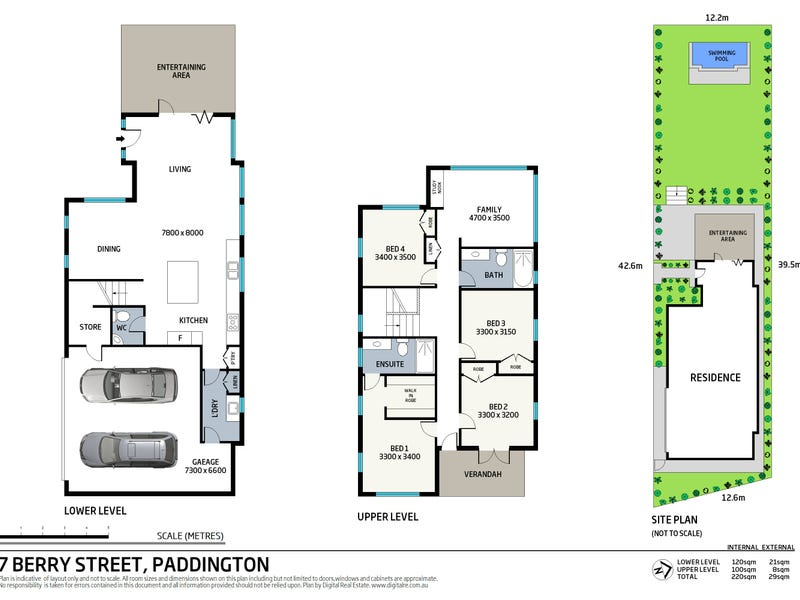 7 Berry Street, Paddington, Qld 4064 - floorplan