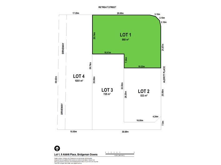 Lot 1, 9 Aldritt Place, Bridgeman Downs