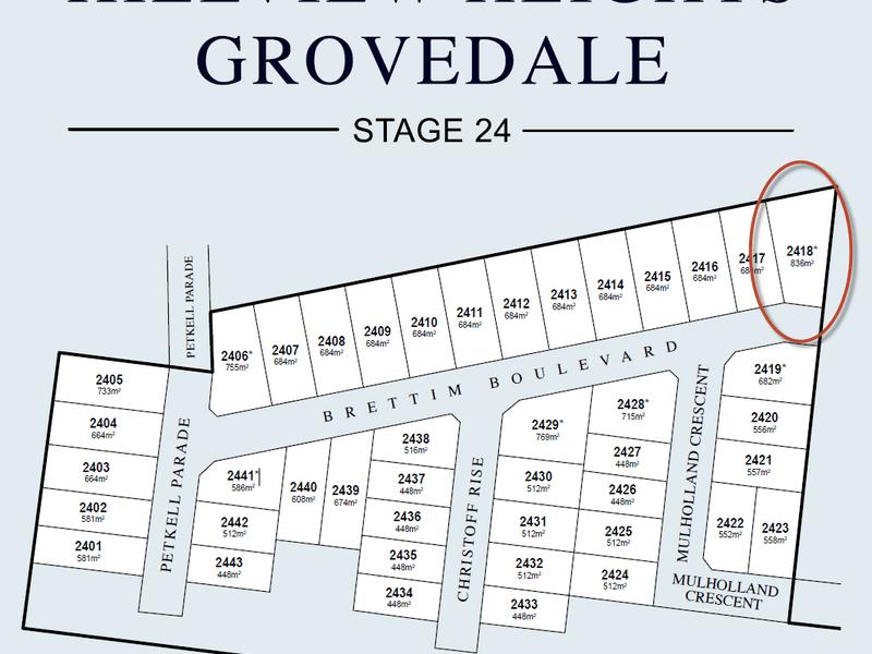 Lot 2418, Brettim Boulevard, Grovedale, Vic 3216