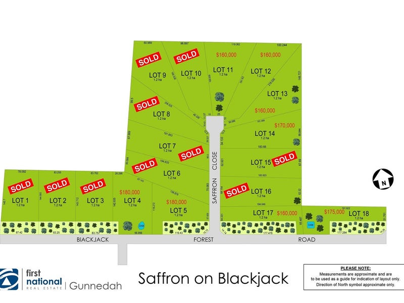 Lot 4,5,11,12,, 13,14,17,18 Saffron Estate, Gunnedah, NSW 2380