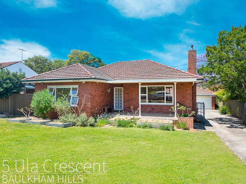 5 Ula Crescent, Baulkham Hills, NSW 2153
