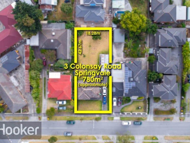 3 COLONSAY ROAD, Springvale, Vic 3171