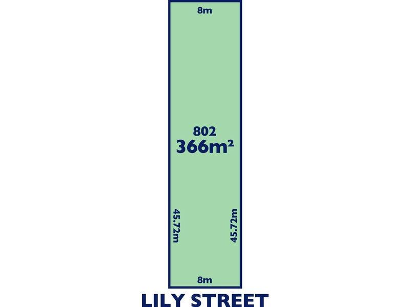 Lot 802 / 30 Lily Street, Blair Athol, SA 5084