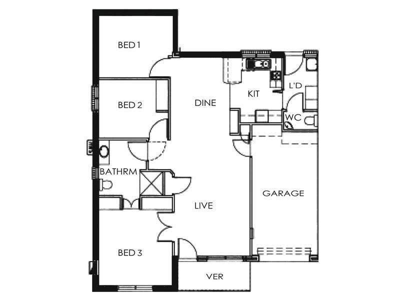 10/30A Norfolk Road, Marion, SA 5043 - floorplan