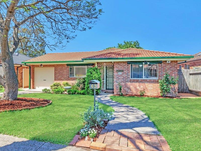 63 Unicombe Crescent, Oakhurst, NSW 2761