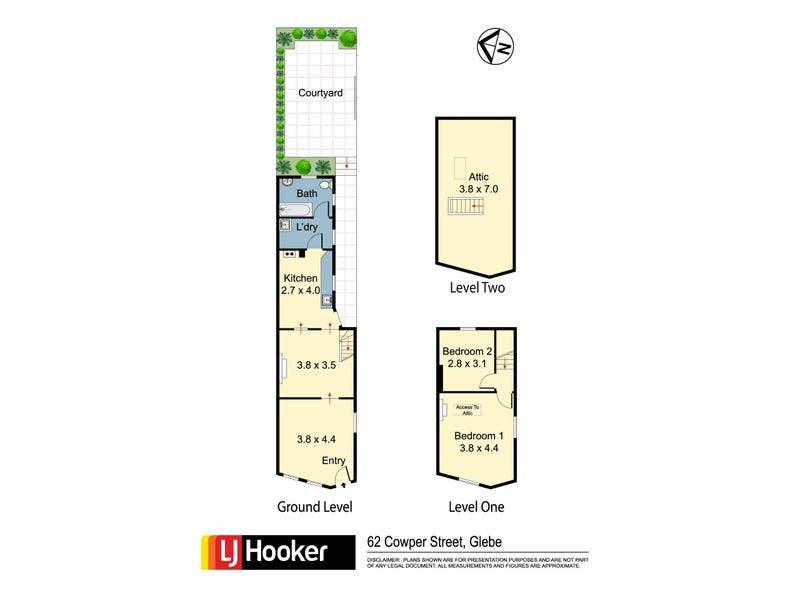 62 Cowper Street, Glebe, NSW 2037 - floorplan