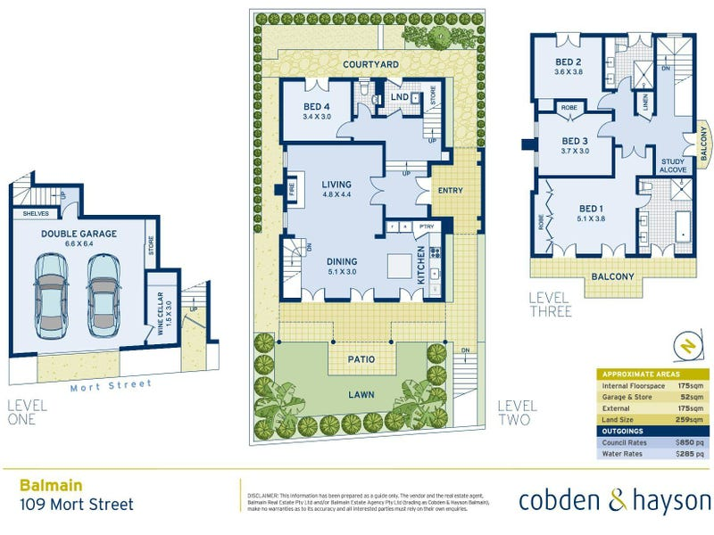 109 Mort Street, Balmain, NSW 2041 - floorplan