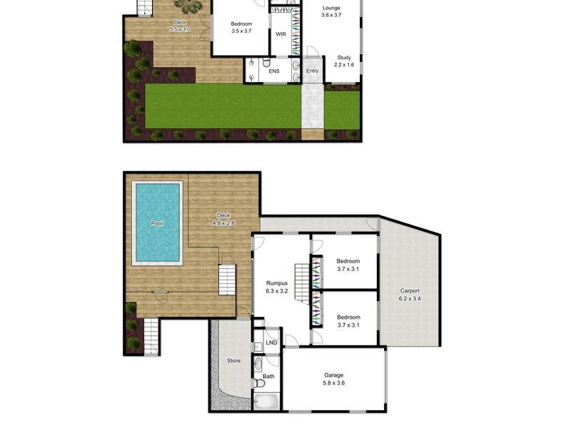 1/35 Ozanne Street, Paddington, Qld 4064 - floorplan