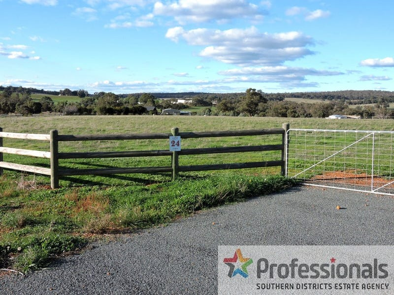 Lot 24 Knight Road, Wandering, WA 6308