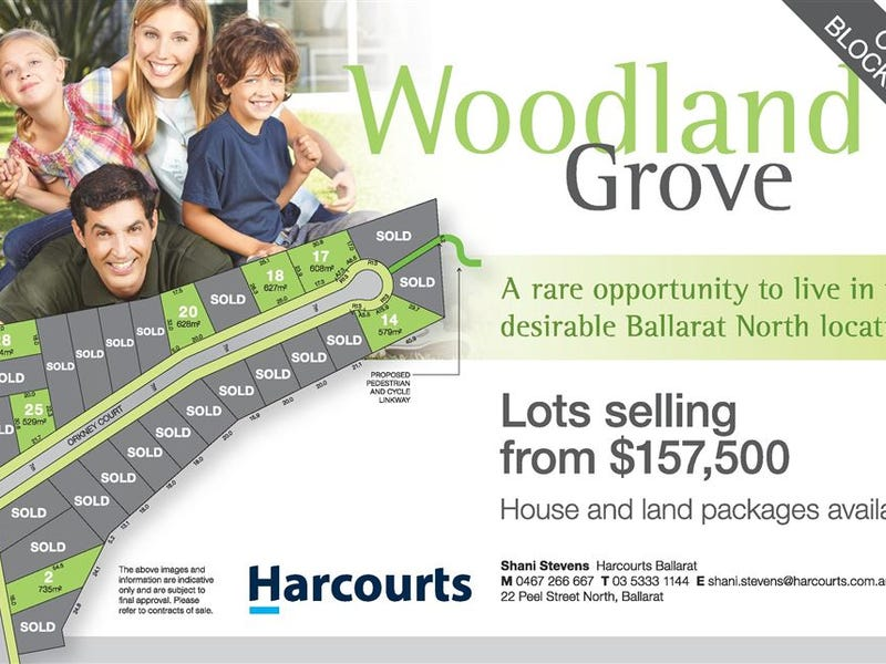 Lots 1 - 28 Woodland Grove, Ballarat North