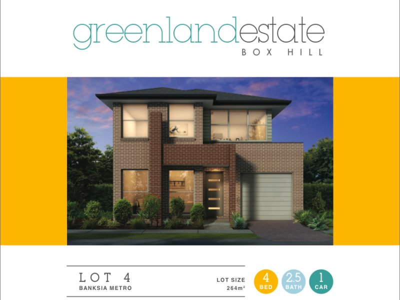 Lot 4/49  Terry RD, Box Hill, NSW 2765