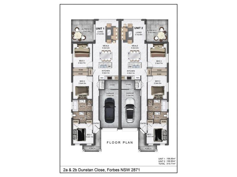 2a & 2b Dunstan Close, Forbes, NSW 2871