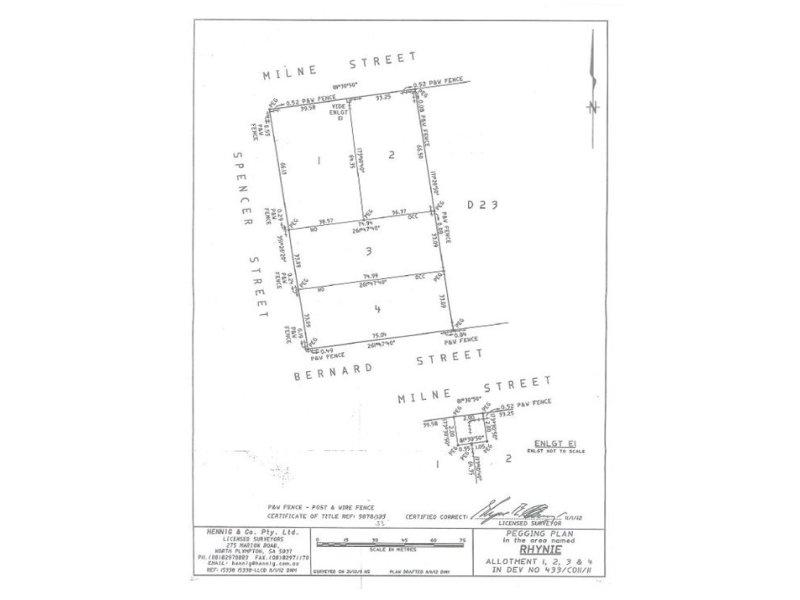 Lot 2 Milne street, Rhynie, SA 5412