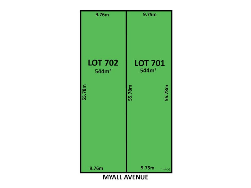 Lot 701 & 702, 59 Myall Avenue, Erindale, SA 5066