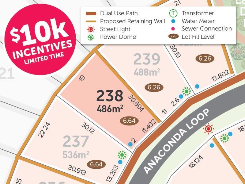 Lot 238 Anaconda Loop, Dawesville